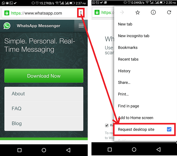Spy on WhatsApp from Android Phone