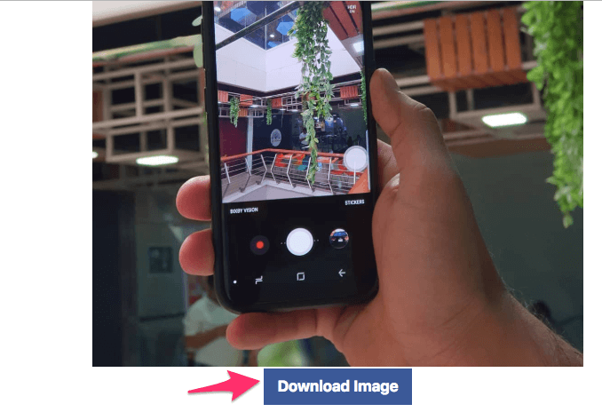 Download Instagram post using any device