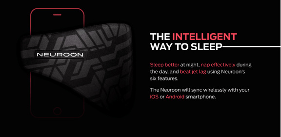 Insomnia Cures Neuroon smart sleep mask