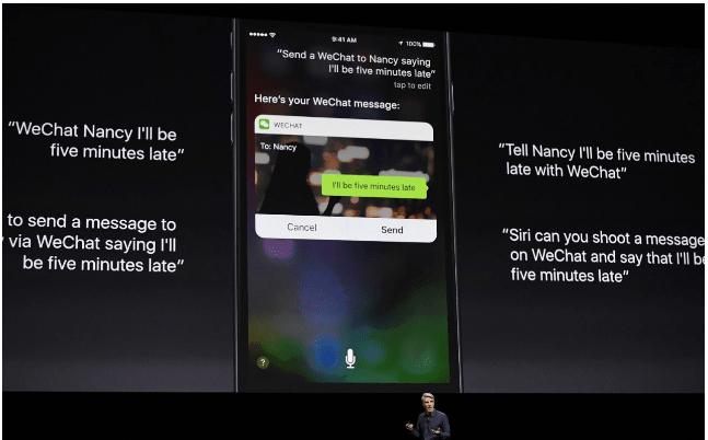 Siri updates at WWDC 2016