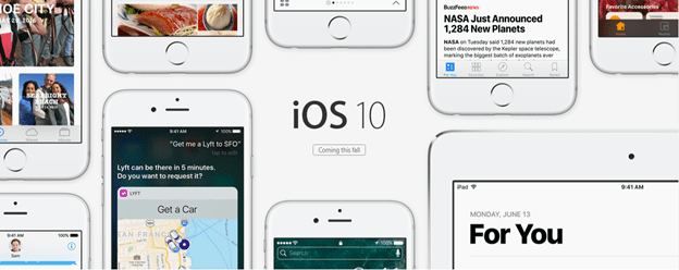 iOS 10 features WWDC 2016