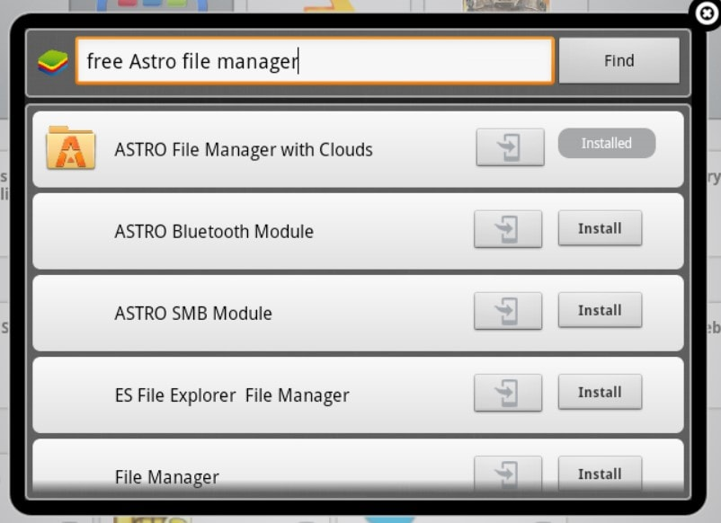 transfer Apps from one Android device to another - astro file manager-min