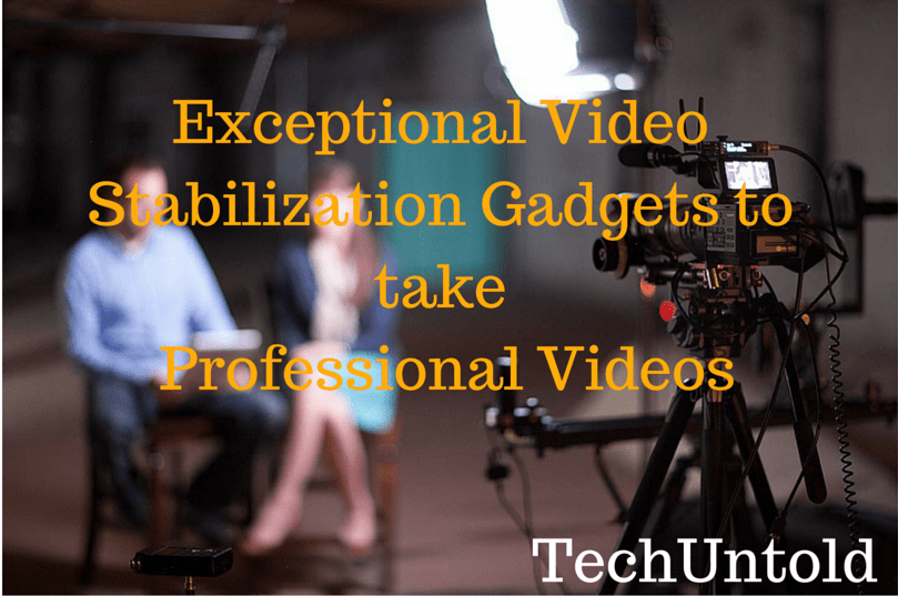 Video Stabilization for professional videos