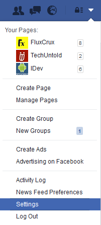 how to post in multiple languages on Facebook - profile settings-min
