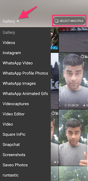 Add Photo Video To Instagram Stories From Gallery