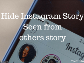 How to hide your Seen from Instagram Story of other users