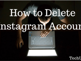 How to Delete Instagram Account permanently or temporarily