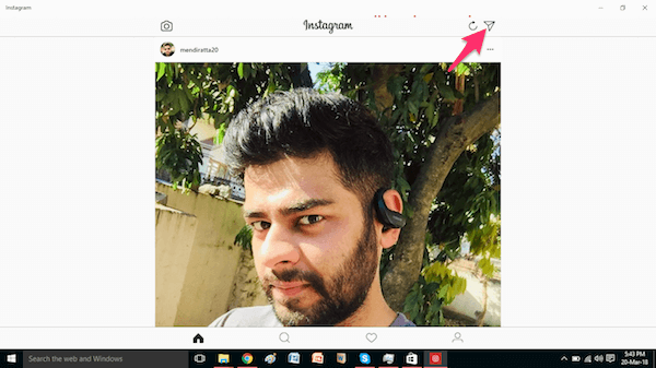 Instagram App for Windows 10