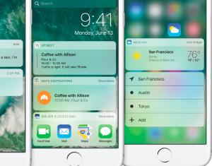 iOS 10 enhancements