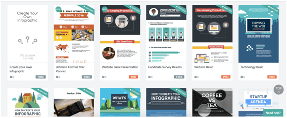 Online Infographic Tools