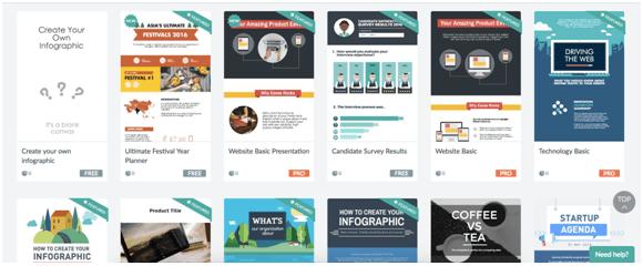 Online Infographic Tools