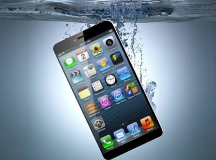 The Big Reveal of iPhone - water resistant