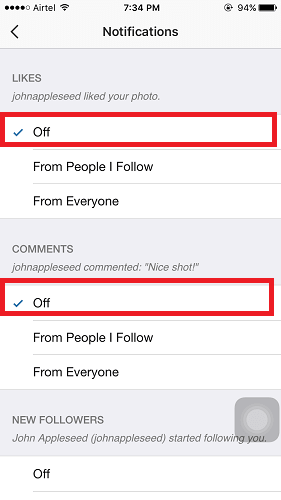 Instagram Push Notifications, Here's How To Turn On/Off Alerts