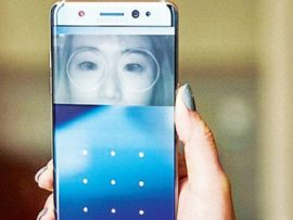 Samsung Note 7 promising to Unlock your Phone with Eyes