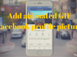 How to set animated GIF Facebook profile picture on Android and iOS