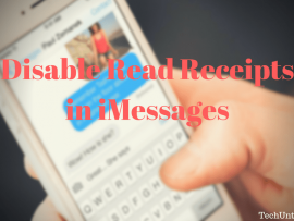 How to turn off Read Receipts in iMessage for certain contacts [iOS 10]