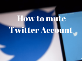 How to mute Twitter Account on Web, Android and iOS App