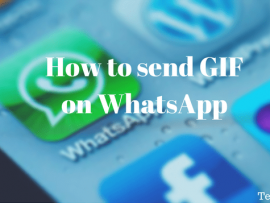 How to send GIF on WhatsApp in Android and iPhone