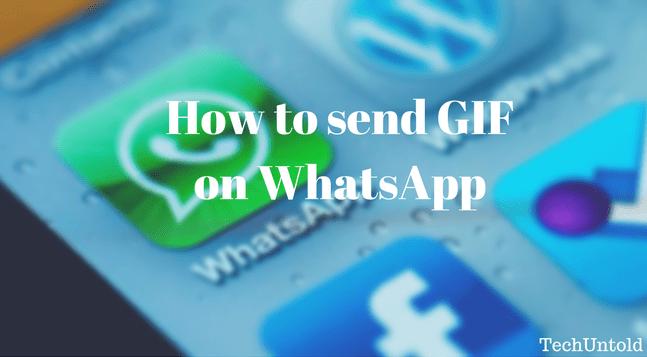 Send GIF on WhatsApp