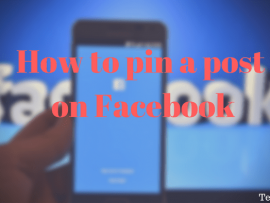 How to pin a post to the top of Facebook Page Timeline and Group