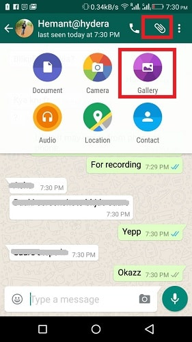 Send GIF Messages on WhatsApp