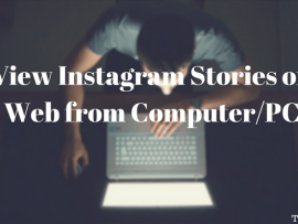 How to view Instagram Stories on Web from Computer/PC