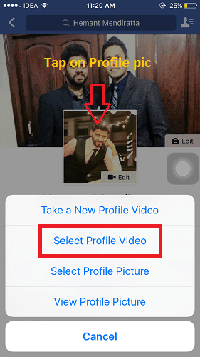 facebook animated gif profile pic