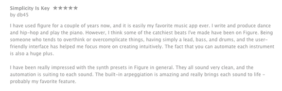 Figure Music creation app review