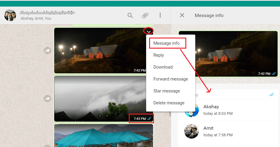 Get Read Receipts on WhatsApp Web