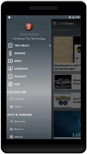 TechUntold app