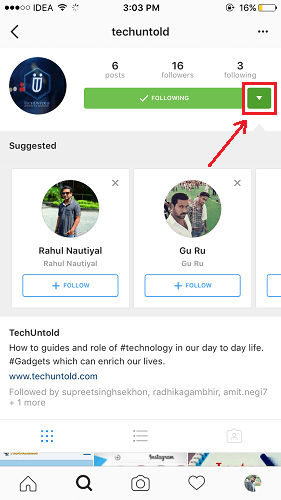 Disable Instagram Similar Account Suggestions