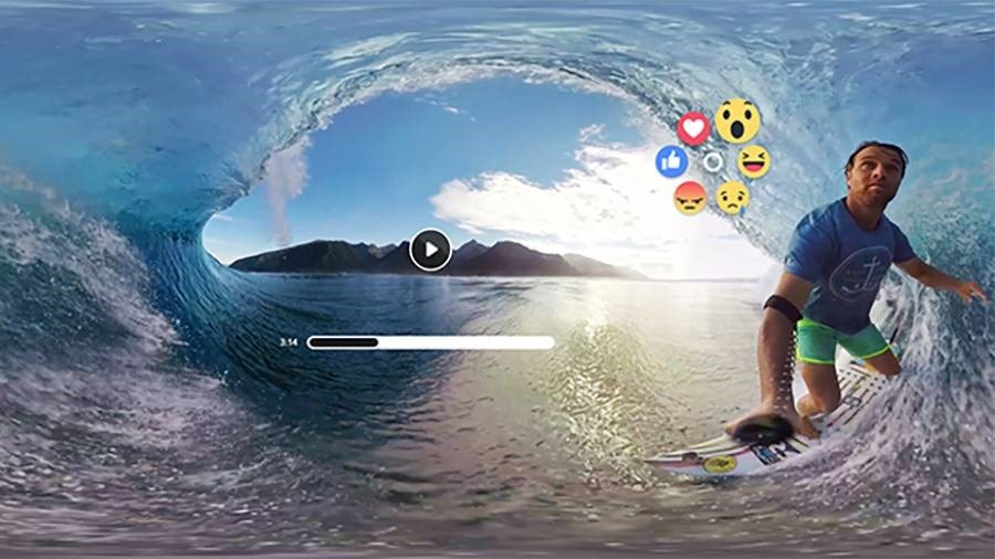 facebook comes with virtual reality emoji