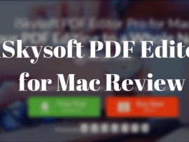iSkysoft PDF Editor Pro for Mac Review