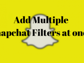 How to use two Snapchat Filters at once to spice things up