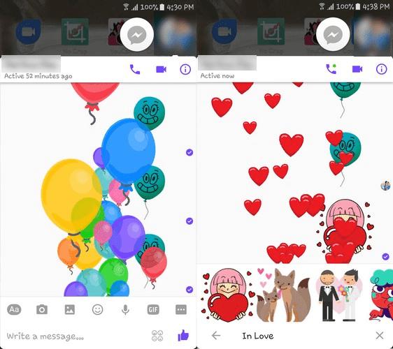 emojis surprises facebook messenger min