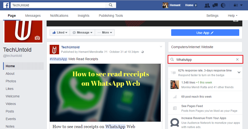 How To Search Facebook Messages In All Or Specific Conversations