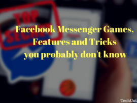 Facebook Messenger Games, Features and Tricks you probably don't know