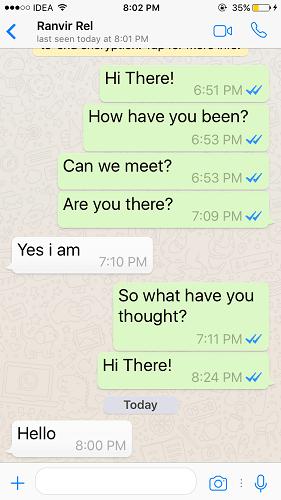 Change Text Size in WhatsApp