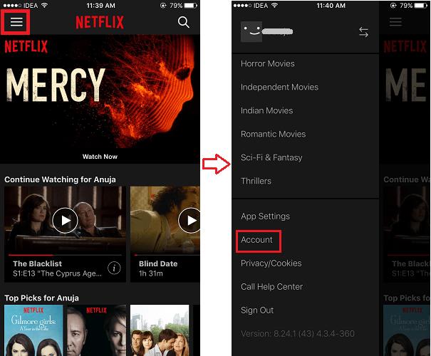 Control Data Usage Netflix App