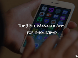 Top 5 File Manager App for iOS