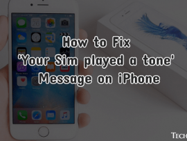 How to Fix 'Your Sim played a tone' Message on iPhone