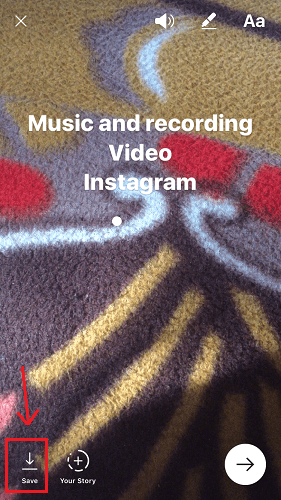 how to add music to instagram video android