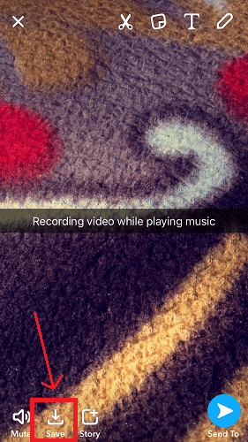 Record Video While Playing Music on iPhone