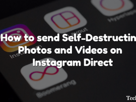 How to send Self-Destructing Photos and Videos on Instagram Direct