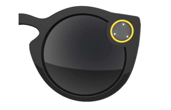 Snapchat Spectacles indicate when storage is full