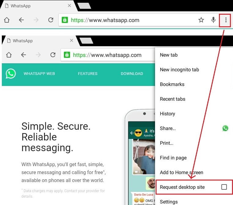 use one whatsapp account on two phones at the same time