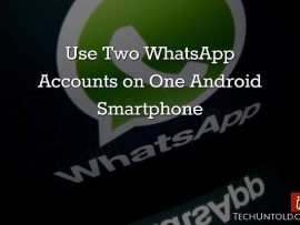 How to Use Two WhatsApp Accounts on One Android Phone without root