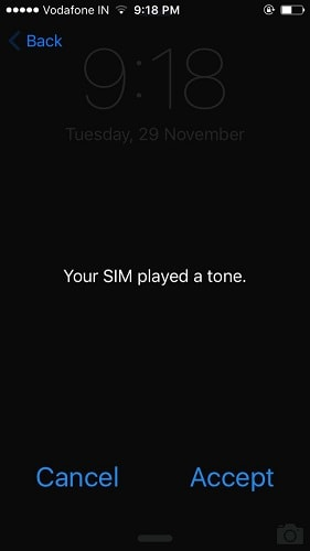 your-sim-played a tone