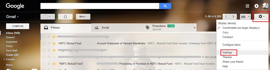 Enable Gmail Keyboard Shortcuts