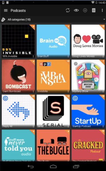best podcast apps - radio addict